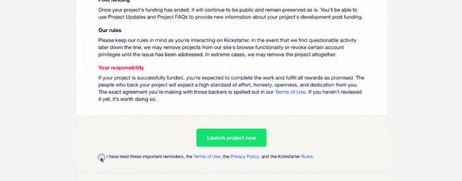 Kickstarter项目审核严不严?你应该了解这几点 8