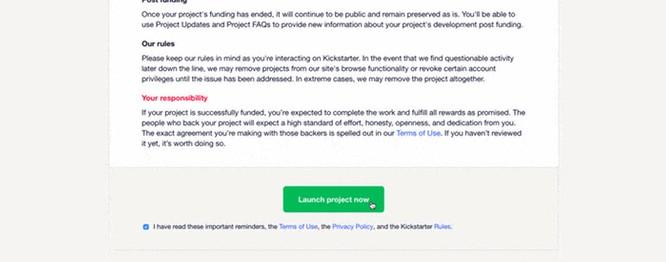 Kickstarter项目审核严不严?你应该了解这几点 9