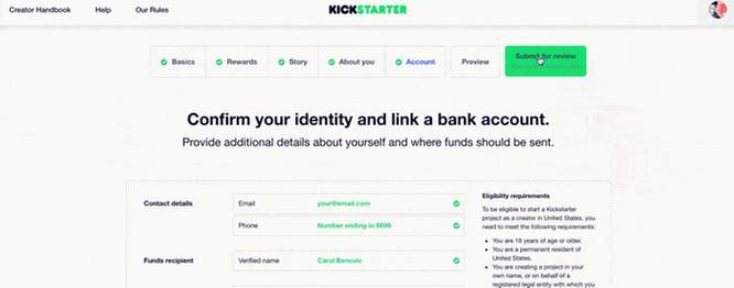 Kickstarter项目审核严不严?你应该了解这几点 2